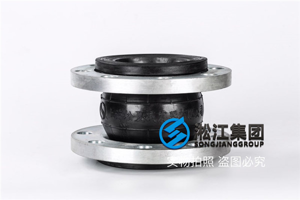耐腐蚀增压泵PVC可曲挠橡胶管接头图纸